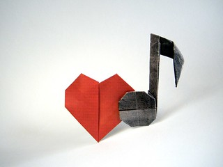 Heart with Note - Christophe Michel