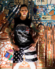 Phoenix at Night (Laveen Photography (aka cyclist451)) Tags: az arizona douglaslsmith laveenphotography phoenix androgynous cyclist451 downtown fashion model modeling muse photograph photographer photography wwwlaveenphotographycom droidnappy andreanapier