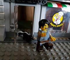 Panic (claudine6677) Tags: lego minifigur skunk stinktier panic city spielzeug toys