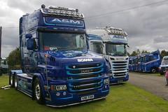 A&M COMMERCIALS VIB730 (bobbyblack51) Tags: am commercials vib730 scania t730 topline v8 triaxle truckfest ingliston edinburgh 2015