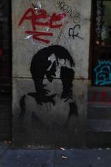 Stencil (michael_hamburg69) Tags: hamburg germany deutschland schanze schanzenviertel stencil urbanart streetart boy