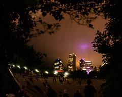 Reflection_114941 (gpferd) Tags: bean building chicago cloudgate construction landmark lights litlights night plant reflection tree illinois unitedstates us