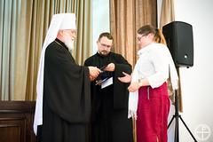 Митрополит Павел возглавил объединенные выпускные торжества Минской духовной академии и Института теологии БГУ