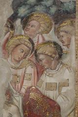 fratelli Salimbeni - Lorenzo (1374 - prima del 1420) e Jacopo (1347 - dopo 1427) - Angeli (1416) - Oratorio di San Giovanni Battista - Urbino (raffaele pagani) Tags: oratoriodisangiovannibattista oratoryofstjohnthebaptist crucifixion urbino pittura painting affreschi frescoes goticointernazionale internationalgothic lorenzoejacoposalimbeni storiadisangiovannibattista historyofstjohnthebaptist crocefissione urbinummataurense centrostoricodiurbino unesco unescoworldheritagesite patrimoniodellunesco patrimoniomondialedellumanità provinciadipesaroeurbino provinceofpesaroandurbino marche centroitalia centerofitaly italia italy canon