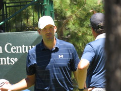 Tony Romo at the 16th hole (vpking) Tags: celebritygolf americancentury edgewoodgolfcourse tahoesouth nevada southlaketahoe dallascowboys
