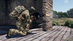 Suppressing Fire (7th Cavalry Combat Camera) Tags: ranger arma milsim gaming 7th cavalry regiment 3 m249 machinegun overwatch operation training