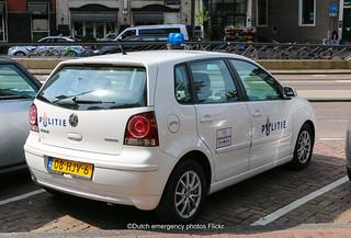 Dutch police Volkswagen Polo