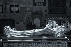 devon-1-140618 (Snowpetrel Photography) Tags: devon exeter olympusem5markii olympusm1240mmf28 blackandwhite cathedrals churchfurnishings churches effigies funerarysculpture medievalart memorials monochrome sculpture tombs england unitedkingdom