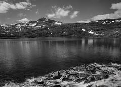 Sildviktind (aalmen) Tags: fomapan100 intrepidcamera fomafilm rodinal gregbrown redfilter sildviktind schneiderkreuznachangulon 90mm landscape landscapephotography mountain lake