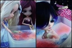O Parto - (3/3) (♪Bell♫) Tags: pullip taeyang groove doll naomi romantic alice blood red hood suzumura rei vincent hermann emilly rosemberg moon rosenthal momoko yoko