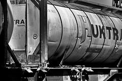 Freight wagon - Güterwagen (b_kohnert) Tags: blackandwhite schwarzweis monochrome detailtrain freightwagon