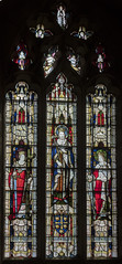 Sledmere, St Mary's church window (Jules & Jenny) Tags: sledmere stainedglasswindow stmaryschurch