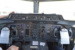Fokker 50 cockpit