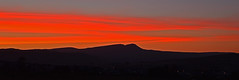 . . . shepherd's delight. (cmw_1965) Tags: sunset sun set dusk red crimson sky skies carmarthen fan wales brecon beacons waun lefrith shepherds delight welsh cymru carmarthenshire powys west glamorgan nightscape landscape mountainscape banwen