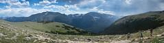 Ute Trail Panorama (hoseph22) Tags: rockymountainnationalpark colorado rockies altitude alpine hiking trails panorama landscape nikon sigma 1750mm f28 d7100