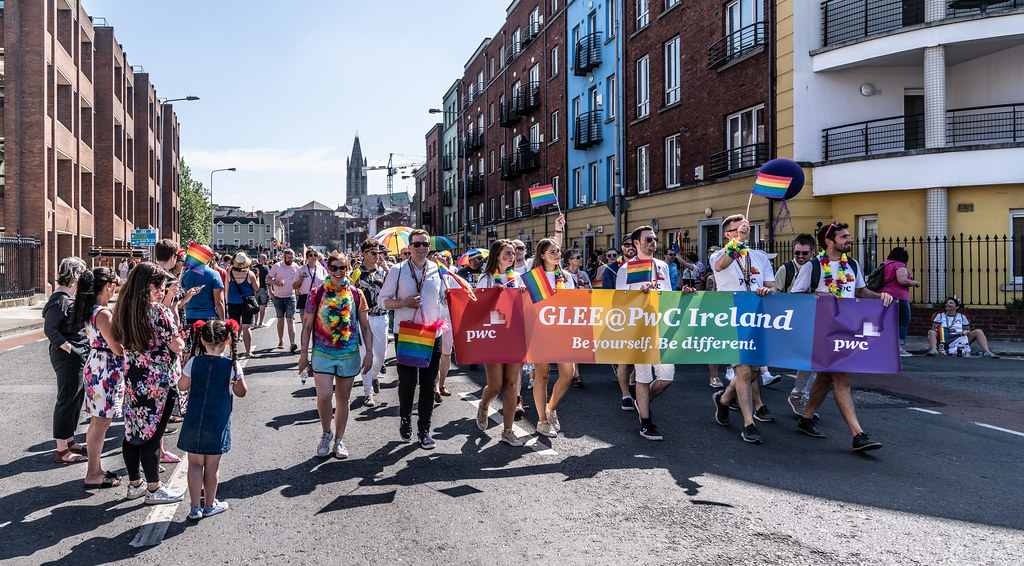 ABOUT SIXTY THOUSAND TOOK PART IN THE DUBLIN LGBTI+ PARADE TODAY[ SATURDAY 30 JUNE 2018] X-100021
