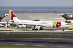 CS-TOA | TAP Air Portugal | Airbus A340-312 | CN 41 | Built 1994 | LIS/LPPT | 01/05/2018 (Mick Planespotter) Tags: aircraft 2018 airport sharpenerpro3 nik cstoa tap air portugal airbus 41 1994 lis lppt 01052018 a340 portela a340312 humbertodelgado