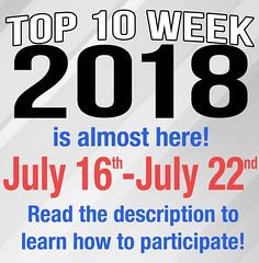 Top 10 Week 2018! **READ DESCRIPTION** (Luigi Fan) Tags: top 10 ten week 2018 marvel tv dc comics lego video games movie film