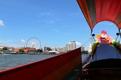 "Bangkok: Long-tail boat (Ali Bentley) Tags: bangkok thailand southeastasia klong khlong ""longtail boat"""