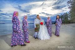 Wedding Of The Day  Outdoor @ Tanjung Asam @ Penang (KIMI KANTA) Tags: weddingoftheweek wedding malaywedding pengantinmelayu beach sea bluesky panorama groupphotography tanjungasam penang malaysia canon canondslr canonlens delightingyoualways welovecanon myartwork art happyday lifeisbeautiful
