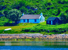 Scotland West Highlands Argyll the Faery Cottage island of Arran 24 June 2018 by Anne MacKay (Anne MacKay images of interest & wonder) Tags: scotland west highlands argyll sea coast shore faery cottage house building island arran trees landscape xs1 24 june 2018 picture by anne mackay