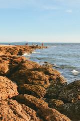 go to the beach (Nutchanon Karikan) Tags: beach sea sky blue evening feel view life waves outdoor landscape light
