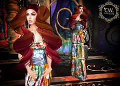 LuceMia - Swank Event (2018 SAFAS AWARD WINNER - Favorite Blogger - MISS ) Tags: swankevent celestina'sweddings letituier event hairs melanie dress tropical tea sl secondlife mesh fashion creations blog beauty hud colors models lucemia