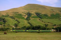Central Trains Class 158 (Steel Rails) Tags: edale derbyshire hope valley railway line peak district train 2003