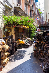 Old quarter of Bangkok (Evgeny Ermakov) Tags: asia asian bangkok southeast southeastasia thai thailand alley alleyway auto autoparts bike building car carparts city clean community day daylight daytime dirt district dust ecology flag garbage green junk life light litter local moto neighborhood neighbourhood old oldquarter parts pollution problem quarter repair repairparts sidestreet spare spareparts street sunlight sunny tourism town traditional trash travel tree vehicle waste yellow