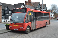 D&G Bus 129 YJ60KFE (Will Swain) Tags: nantwich bus station 31st march 2018 cheshire north west south county buses transport travel uk britain vehicle vehicles country england english dg 129 yj60kfe