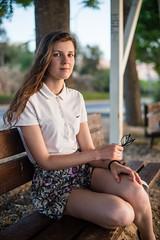 Wife (denisgorobets) Tags: blue nikon d600 amateur summer israel women portrait face subset beauty girl