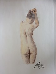 IMG_0755 small (Alan Green Art) Tags: nude pencil sketch art