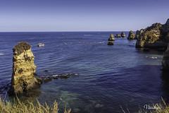 POTI082014_145R_FLK (Valentin Andres) Tags: algarve donaana doñaana lagos playa portugal praia beach islote roca rock