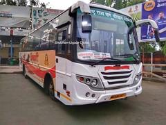 Kolhapur - Boisar (shubhamligade11) Tags: msrtc antony built ac shivshahi bus kolhapur boisar palghar maharashtra