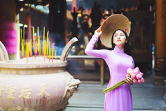 Beautiful vietnamese woman in white Ao Dai traditional dress of Vietnam, Ho Chi Minh city Vietnam (Patrick Foto ;)) Tags: aodai hochiminh adult asia asian attractive background beautiful beauty charming china chinese closeup cute dress face fashion female flower girl hair hat holding lady lifestyle lotus lovely model oriental people person portrait pose pretty red style temple tourism traditional travel urban vietnam vietnamese white woman young hochiminhcity hồchíminh vn