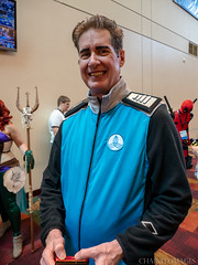 2018 GenCon Saturday Cosplay40-8040163 (TheMOX) Tags: gencon gencon2018 gencon51 cosplay cosplayer costume prop orville scifi captain mercer