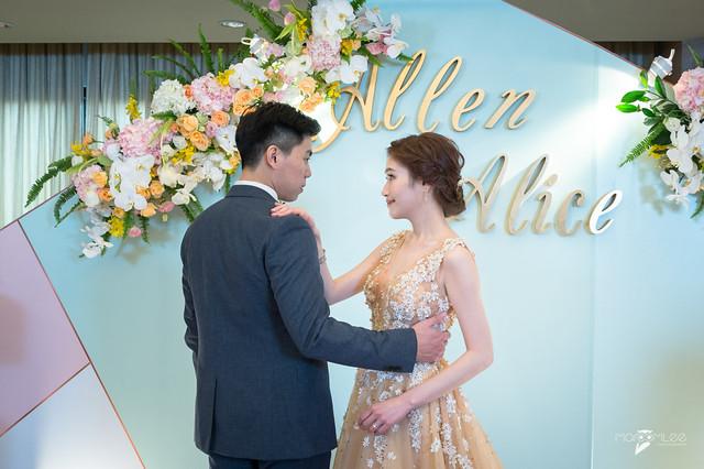 Allen&Alice-台南大億麗緻宴客-婚禮記錄-62