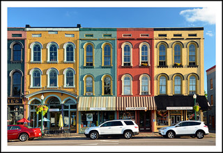 The Colors of Depot Town in Ypsilanti, Michigan