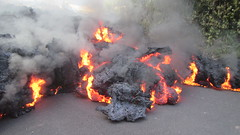 rolling lava (bluewavechris) Tags: hawaii bigisland leilani lava volcano disaster hot black moving fire