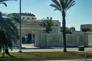 Gated residence and courtyard, Abu Dhabi