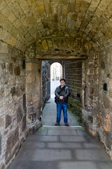 Ethan Enjoys Tunnels (TheOtter) Tags: stirlingcastle scotland stirling castle stone