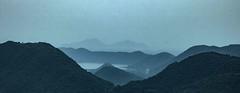 Stack of mountains, Araku Valley, India (senguptapulak) Tags: panorama layered mountain cloudy scene natural light canon mountains araku valley