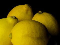 Lemons (Andy Sut) Tags: fruit stilllife food raw dessert macro studio kitchen justfruitseries lemons andysutton edible eating dining lumix bridgecamera amateur homestudio studiolighting still