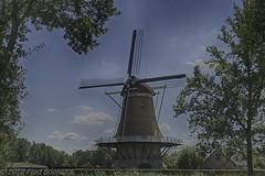 """De Hoop"", te  Appel (Nijkerk) (Fred / Canon 70D) Tags: hdrefexpro2 sigma canon canon70d canoneos bwcirpolhtcmrcnanoxsprodigital72mmkäsemann käsemann bw sigma18300mmf3563dcmacrooshsmc dehoop appel nijkerk gelderland erfgoed historicarchitecture windmolen windmill mill"