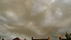 Sunset (l4ts) Tags: derbyshire chesterfield goldenhour sunset timelapse video rooftops cloudscape clouds incameraapp