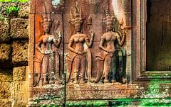 Angkor Wat Cambodia -9a (Yasu Torigoe) Tags: sony a99ii a99m2 sonyilca99m2 camboya cambodia angkor siem templo temple khmer architecture ancient ruins stonework siemreap history histoire building carving art surreal sculpture structure travel archeology thebestshot flickr best buddha buddhist hindu shiva devatas deity