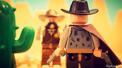 Drop your weapon! (black.zack00) Tags: lego toy minifig afo afol photography fun farwest cowboy sherif minifigure