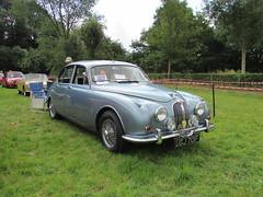 Jaguar 340 UGJ701F (Andrew 2.8i) Tags: show car cars classic classics gwili railway transport day bronwydd arms british luxury executive sports saloon mark mk 2 ii mk2 340 34 jaguar