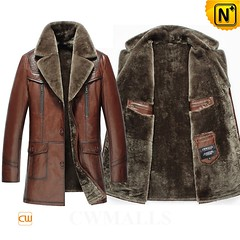 Prime Day 2018 | CWMALLS® Sydney Vintage Shearling Leather Coat CW808088 [Custom Made] (cwmalls2018) Tags: men brown vintage shearling leather coat custommade multifunctional 2in1coat fashion winterwear shopping