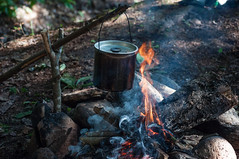 Simple life (Jackx001) Tags: 2018 algonquinpark bushcraft camping canada canadaday fishing jacknobre july nature ontario tonyviclicky wetlake canoe lake landscape simplelife fire camp